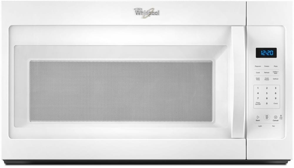 Whirlpool Wmh31017fw 1 7 Cu Ft Over The Range Microwave