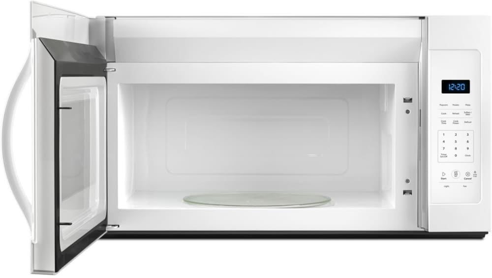 Whirlpool Wmh31017fw White Front View Open