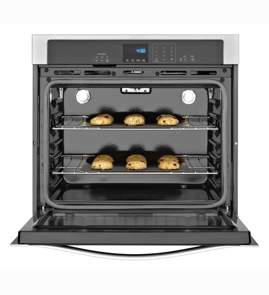 Whirlpool Wos51ec0a 30 Inch Single Electric Wall Oven With