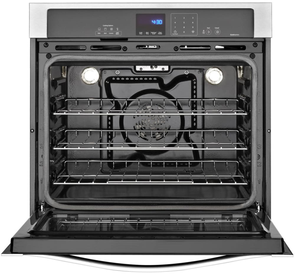 Whirlpool Wos92ec0ab 30 Inch Single Electric Wall Oven