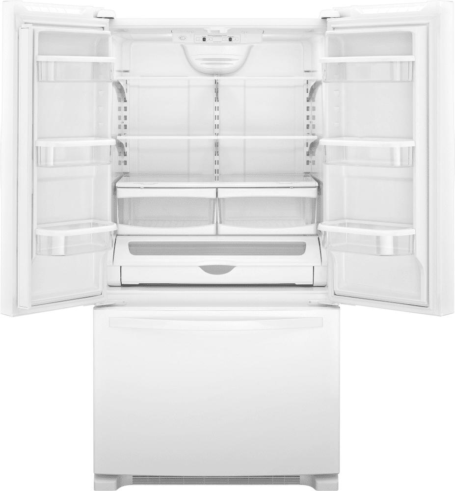White apron oshawa -  Whirlpool Wrf532swb White Open View