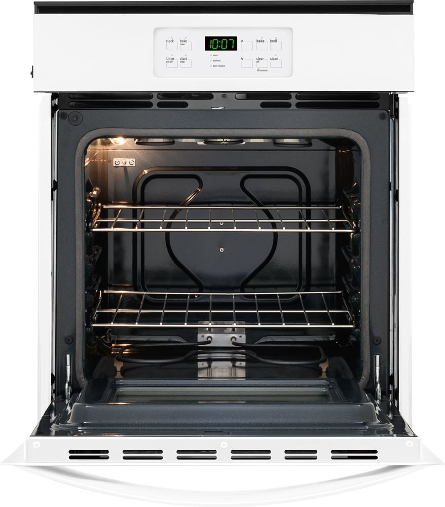 Electric Wall Oven 24 Inch Frigidaire Ffew2425qw 24 Inch Single Electric Wall Oven With 33