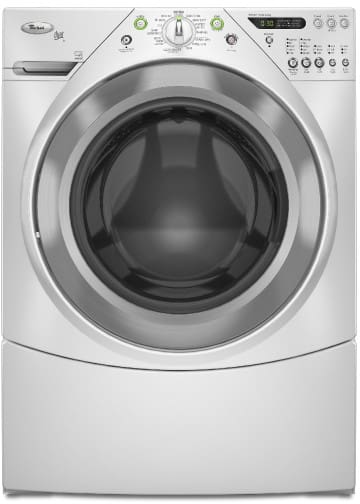 Whirlpool Wfw9400sw 27 Inch Front Load Washer With 4 0 Cu