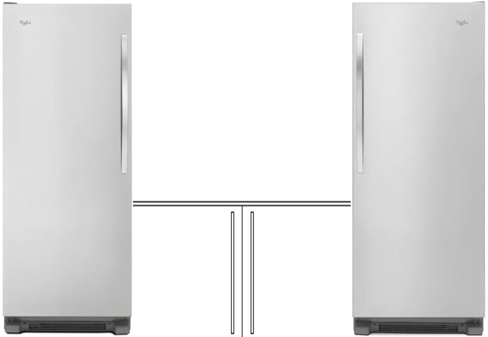 Whirlpool Whrefr2 Separate Install Column Refrigerator