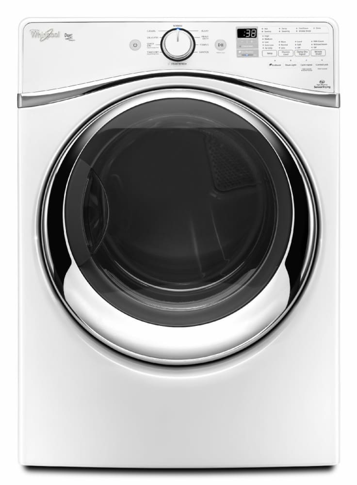 Whirlpool Wed95hedw 27 Inch 7 4 Cu Ft Electric Dryer