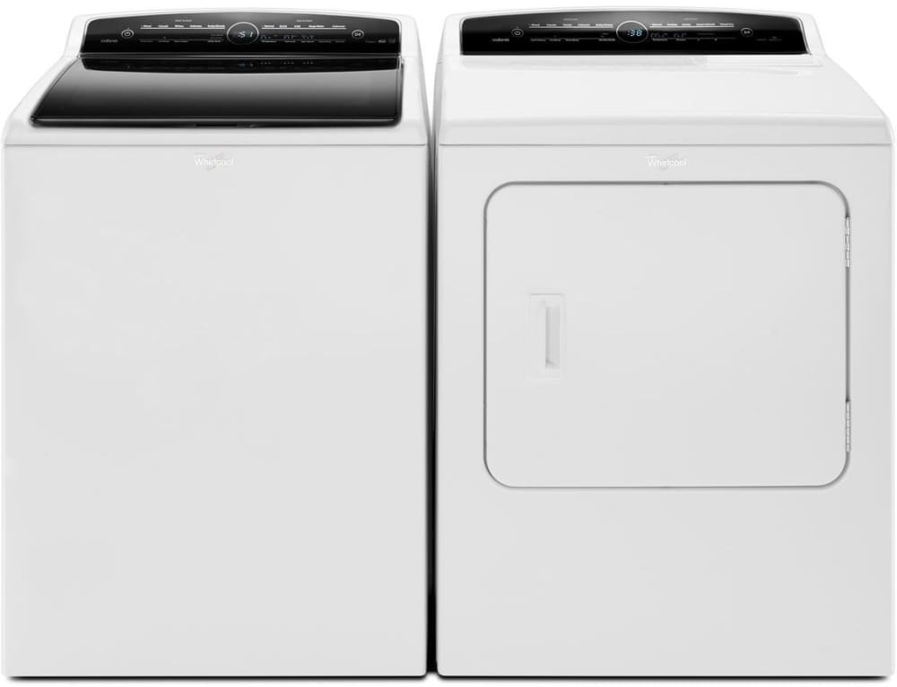 ft capacity whirlpool cabrio wed7300dw washer and dryer pair