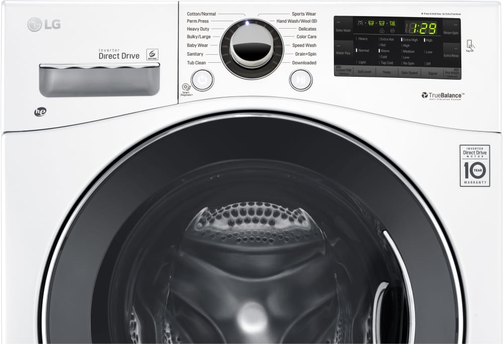 washer from lg lg wm1388hw front controls