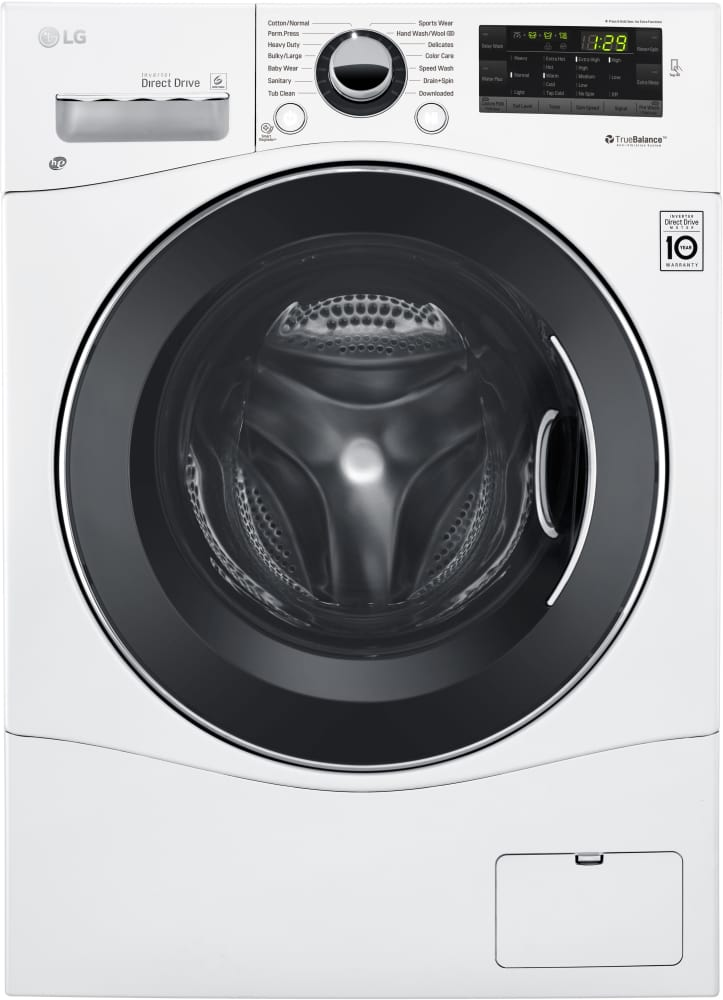 Lg Wm1388hw Compact Front Load Washer From