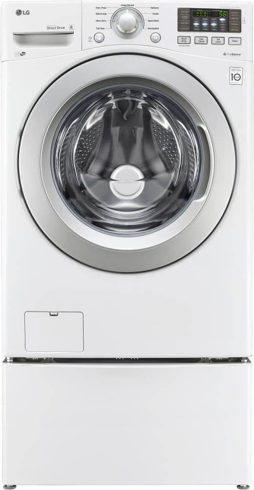Lg Wm3270cw 27 Inch Front Load Washer With Nfc Smartphone Technology