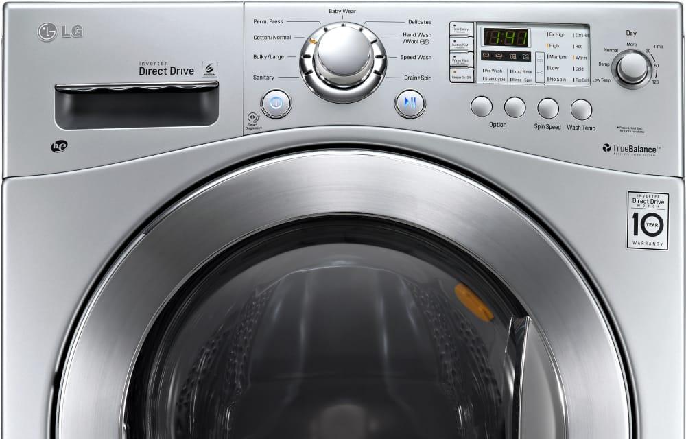 Lg Wm3477hs 24 Inch 2 3 Cu Ft Electric Washer Dryer