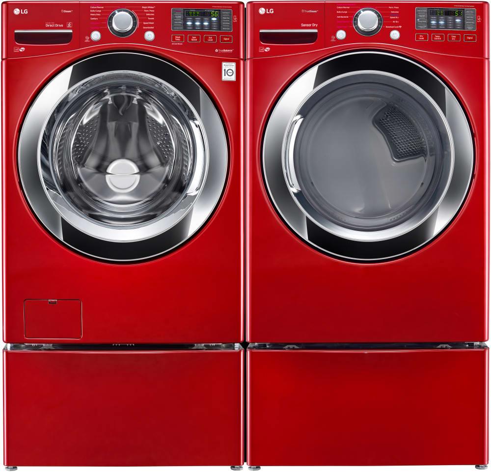 Lg Dlgx3371r 27 Inch 7 4 Cu Ft Gas Dryer With Truesteam