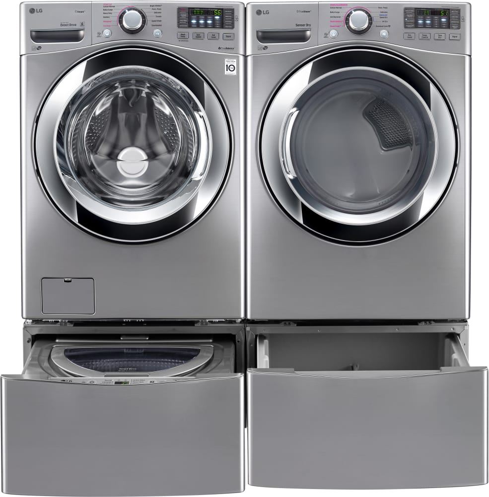 Lg Wm3670hxa 27 Inch 4 5 Cu Ft Front Load Washer With