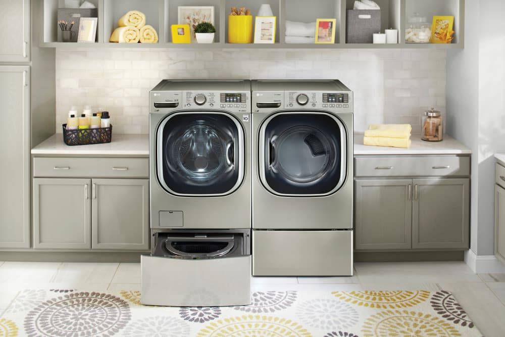 Lg Wm4270hva 27 Inch 4 5 Cu Ft Front Load Washer With 14