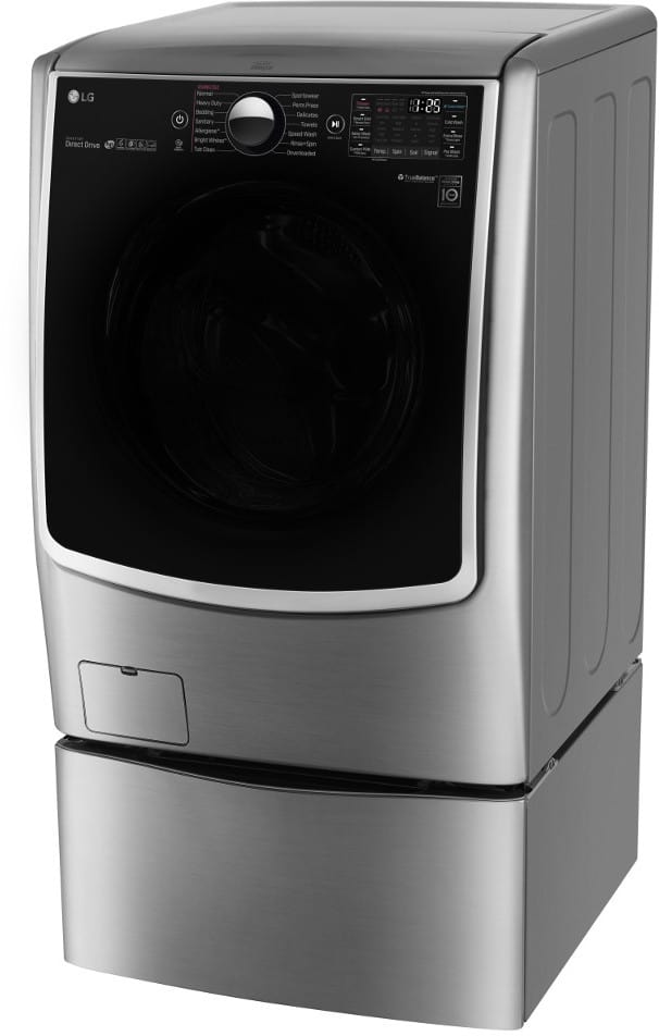 Lg Wm5000hva 27 Inch 4 5 Cu Ft Front Load Washer With 14