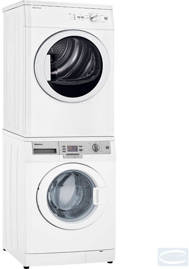 Blomberg Blwadrew2 Stacked Washer Amp Dryer Set With Front