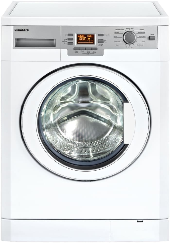 Blomberg WM77120 24 Inch Front-Load Washer with Internal Heater ...
