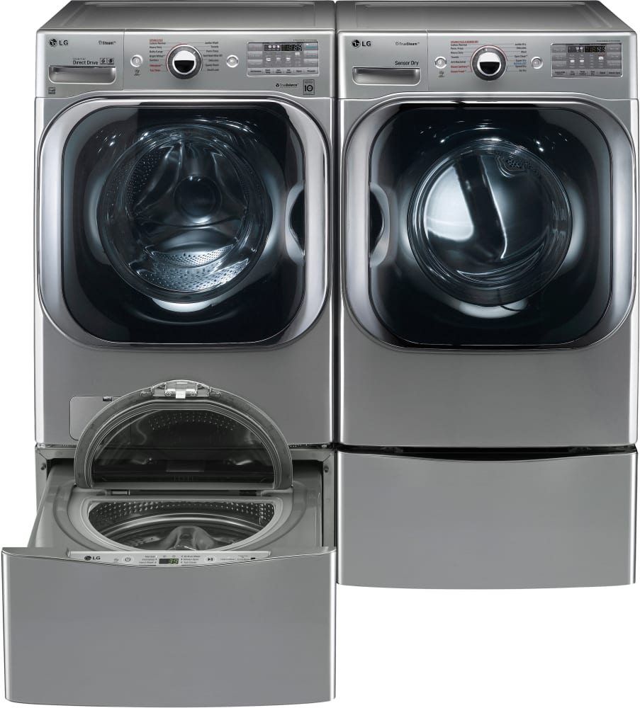 lg dlex8100v 29 inch 9 0 cu  ft  electric dryer with 14 dry cycles  11 drying options  5
