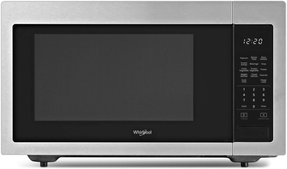 Whirlpool Wmc30516hz 1 6 Cu Ft Countertop Microwave With 200 Watt Cooking