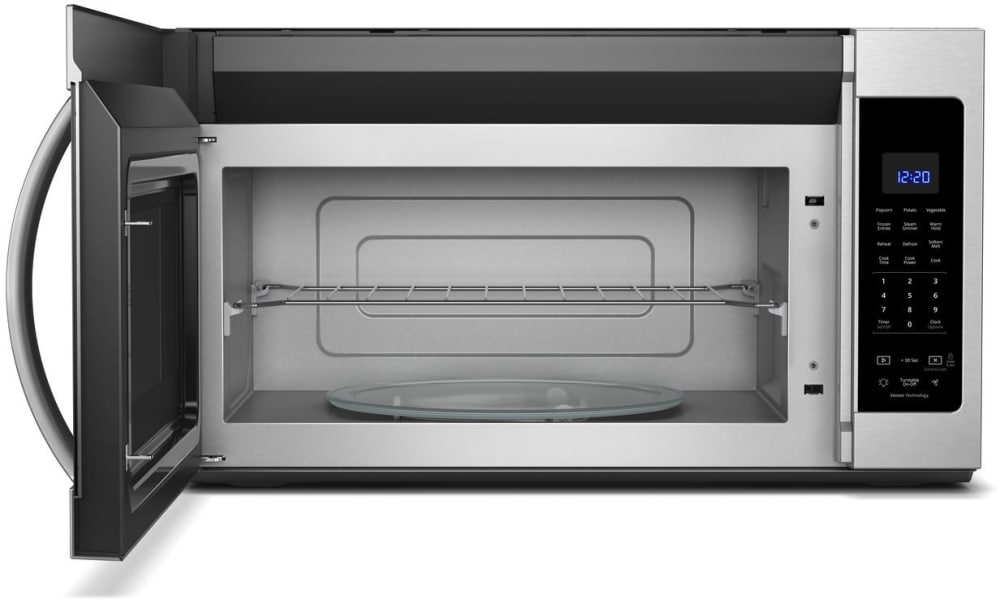 Whirlpool Wmh32519hz 1 9 Over The Range Microwave With