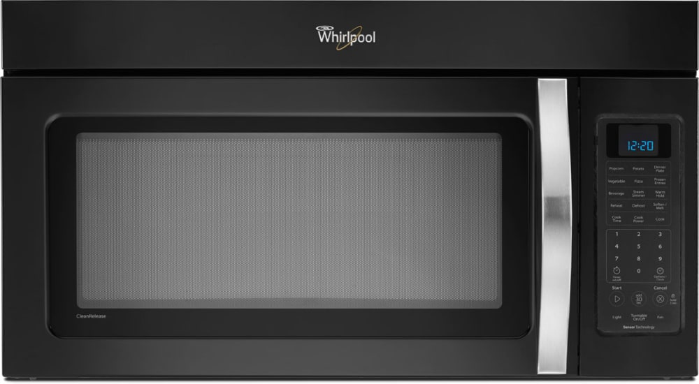 Whirlpool Black Ice Wmh53520ae With Silver Handle