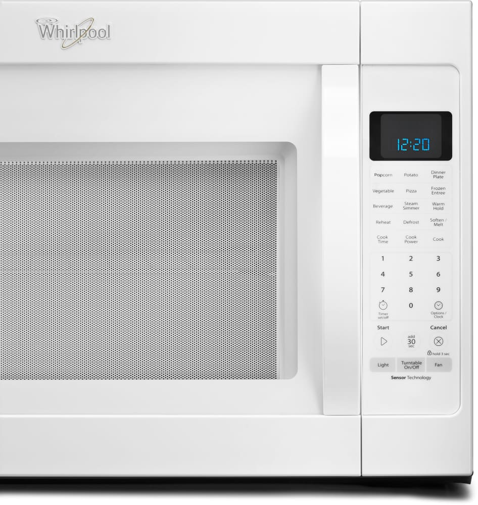 Whirlpool Wmh53520cw 2 0 Cu Ft Over The Range Microwave