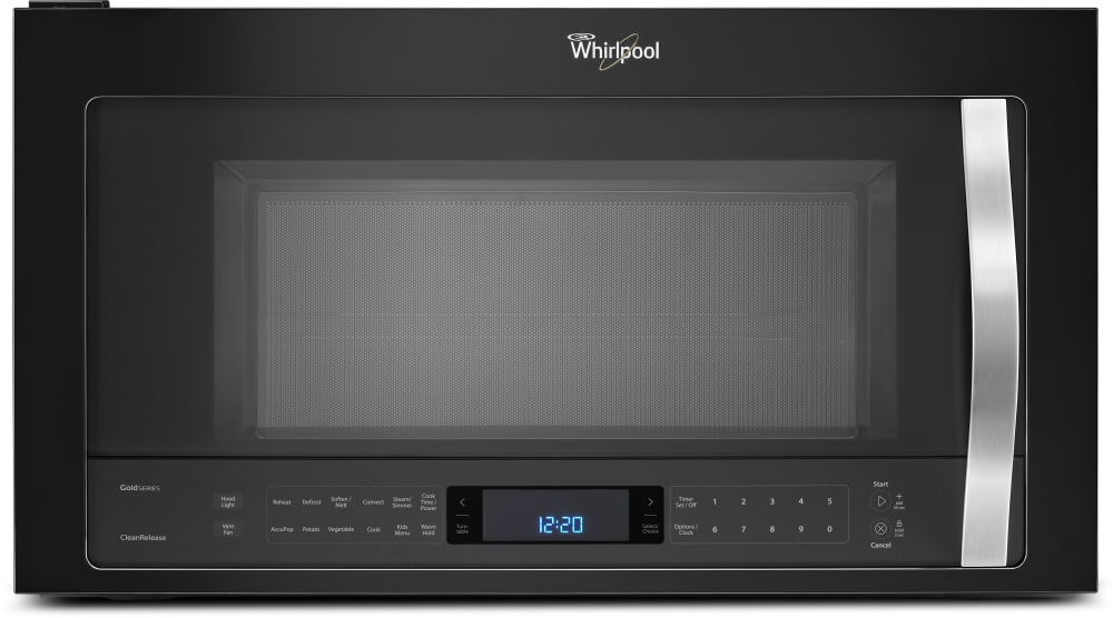 Whirlpool Wmh76719ce 1 9 Cu Ft Over The Range Microwave