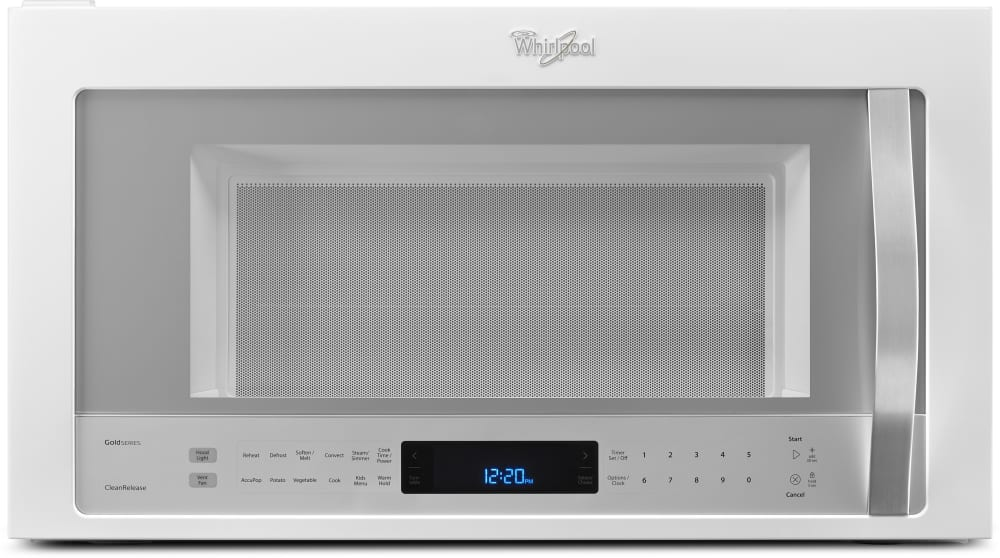 Whirlpool Wmh76719ch 1 9 Cu Ft Over The Range Microwave