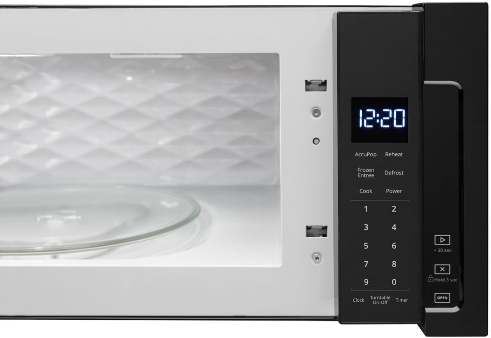 Whirlpool Wml55011hb 1 1 Cu Ft Over The Range Microwave
