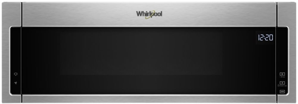 Whirlpool Wml55011hs 1 1 Cu Ft Over The Range Microwave