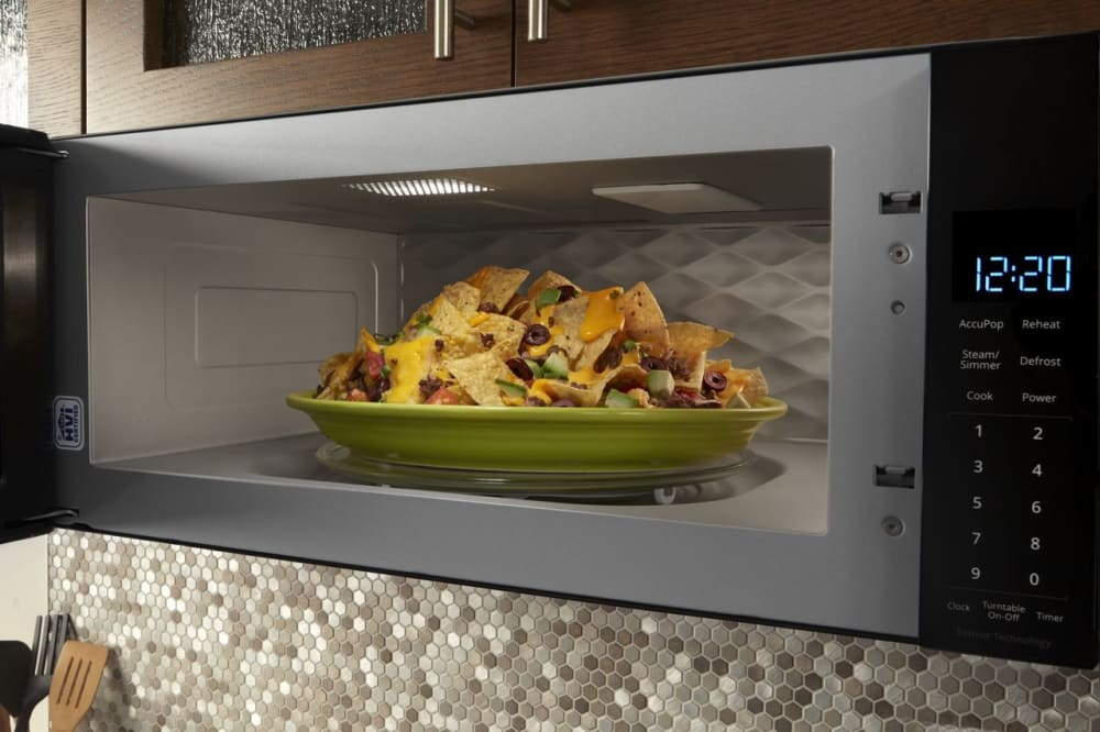 Whirlpool Wml75011hb 1 1 Cu Ft Over The Range Microwave