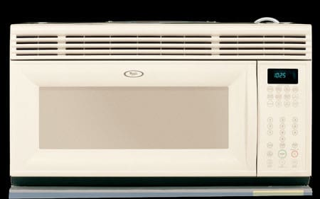 Whirlpool Mh2155xpt 1 5 Cu Ft Over The Range Microwave