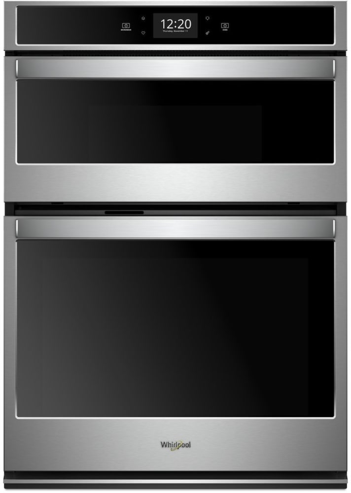 Wall Oven Reviews >> Whirlpool WOC75EC0HS 30 Inch Smart Combination Wall Oven ...