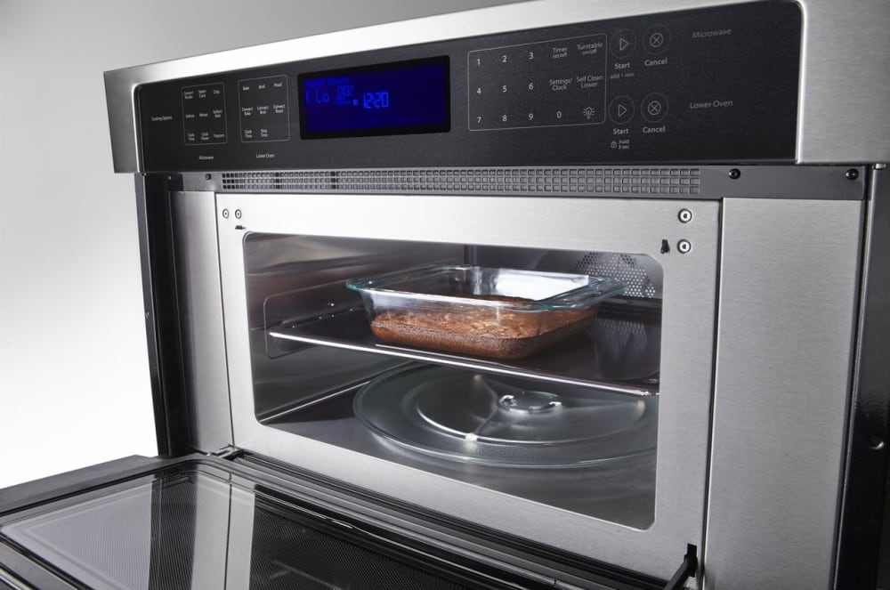 Whirlpool Woc97es0es True Convection Microwave Baking