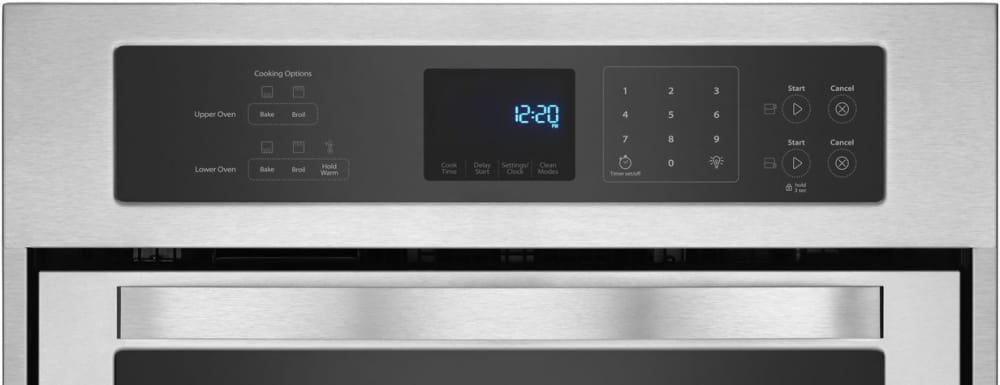 Whirlpool Wod51es4es 24 Inch Double Electric Wall Oven
