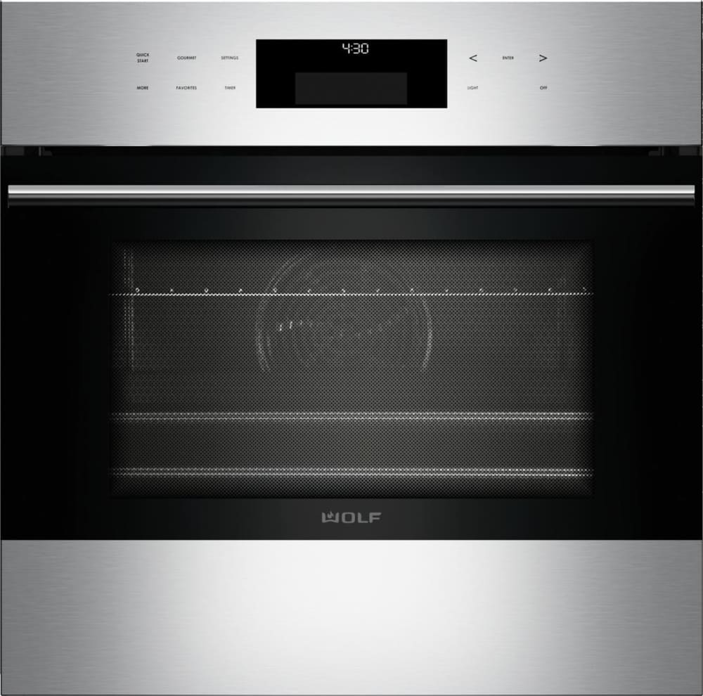 Wolf Wall Oven And Microwave: Wolf SO24TESTH 24 Inch Single E-Series Convection Wall