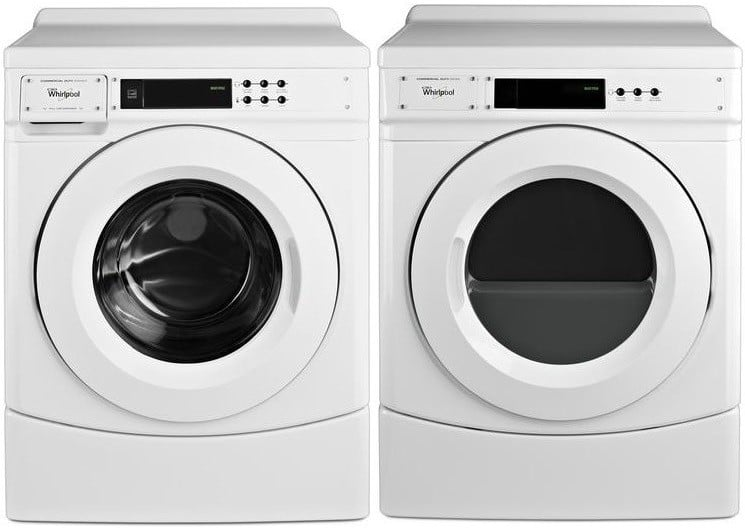 Whirlpool Wpwadrgw3aw60 Side By Side On 10 Inch Pedestals