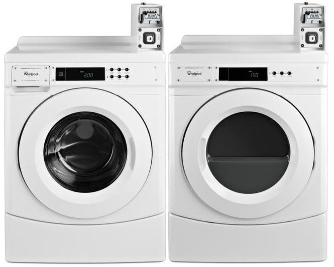 Whirlpool Wpwadrgw3aw Side By Side On 10 Inch Pedestals