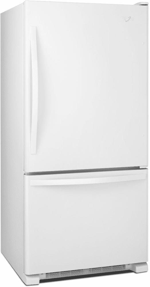 Whirlpool Wrb322dmbw 33 Inch Bottom Freezer Refrigerator