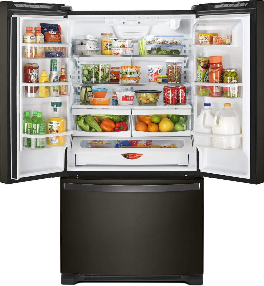 Whirlpool Wrf532smhv 33 Inch French Door Refrigerator With