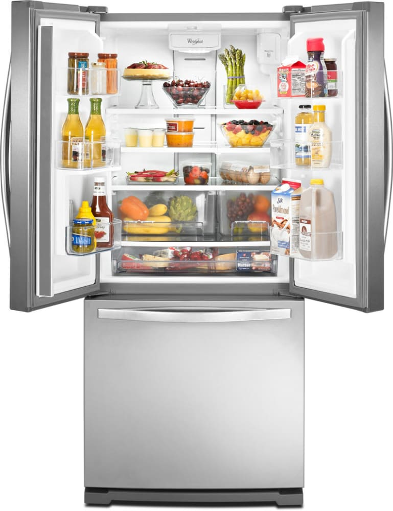 Whirlpool Wrf560seym 30 Inch French Door Refrigerator With Freshflow