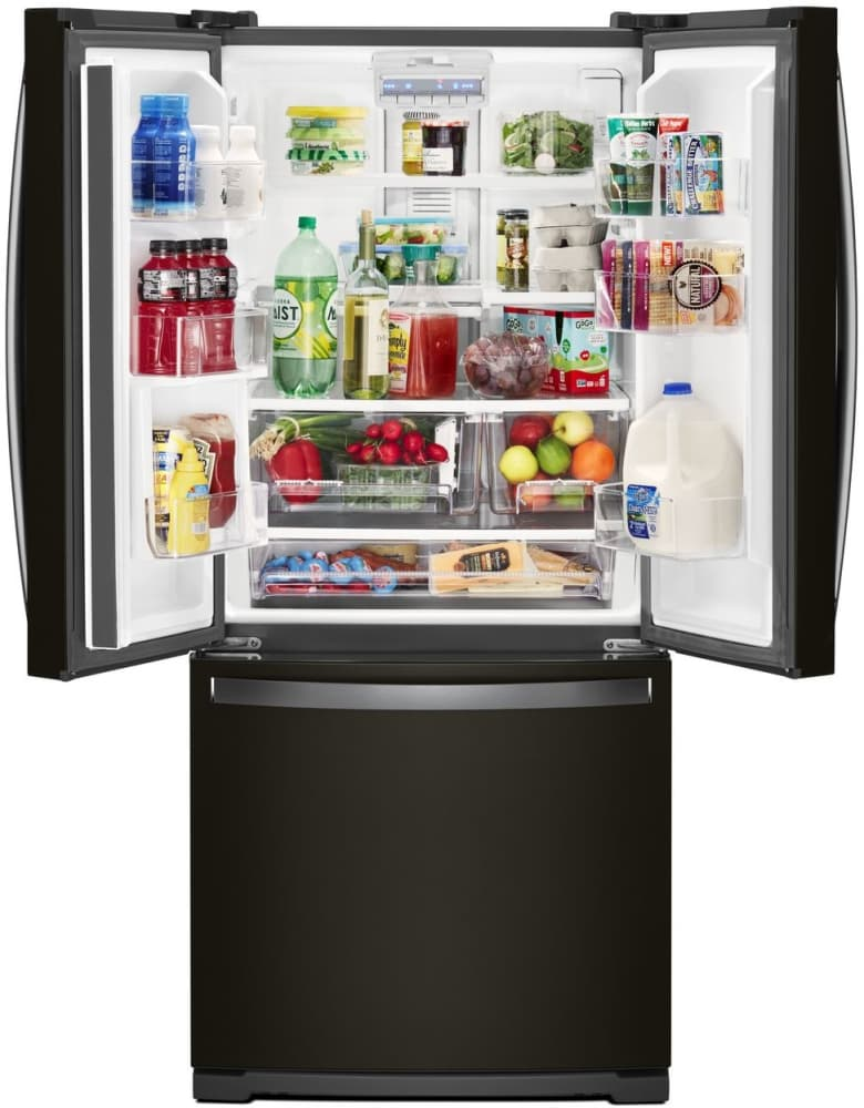 Whirlpool Wrf560smhv 30 Inch French Door Refrigerator With