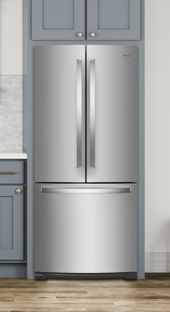 Whirlpool Wrf560smhz 30 Inch French Door Refrigerator With Humidity Controlled Crispers Factory