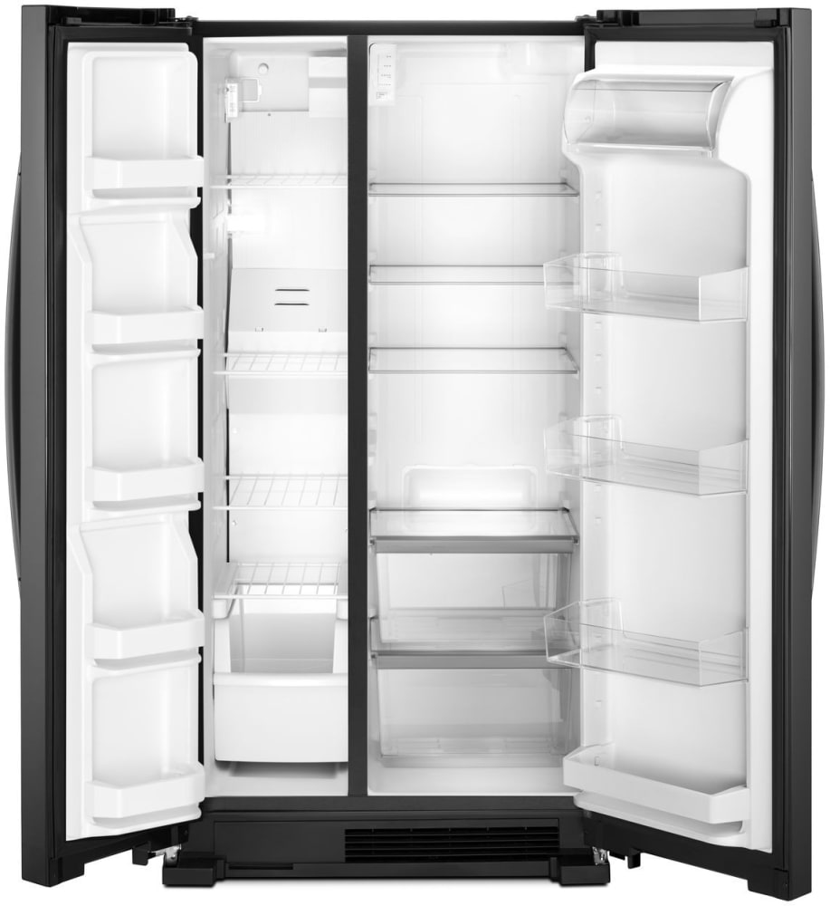 Whirlpool Wrs312snhb 33 Inch Side By Side Refrigerator