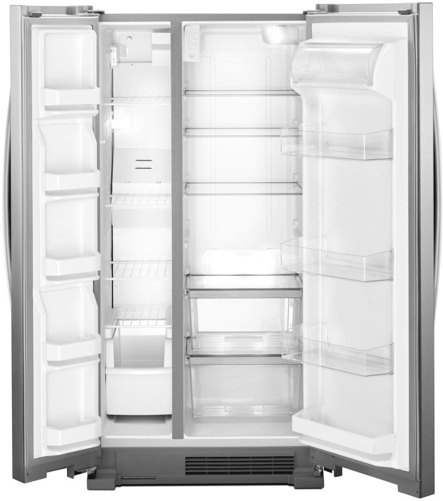 Whirlpool Wrs312snhm 33 Inch Side By Side Refrigerator
