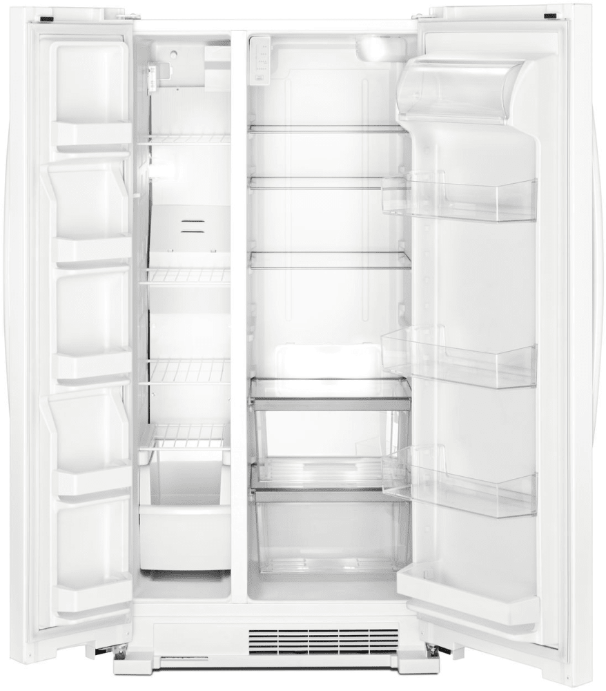 Whirlpool Wrs312snhw 33 Inch Side By Side Refrigerator