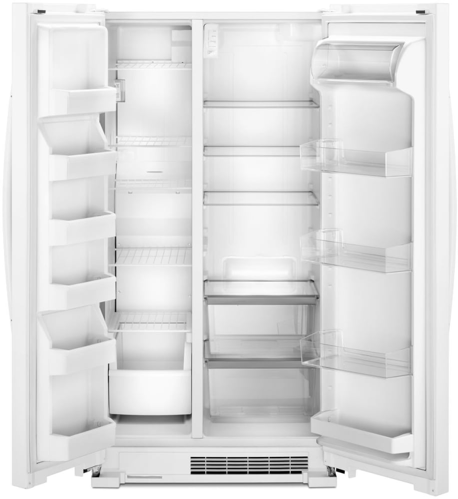 Whirlpool Wrs315snhw 36 Inch Side By Side Refrigerator