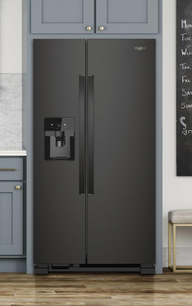 Whirlpool Wrs321sdhb 33 Inch Side By Side Refrigerator