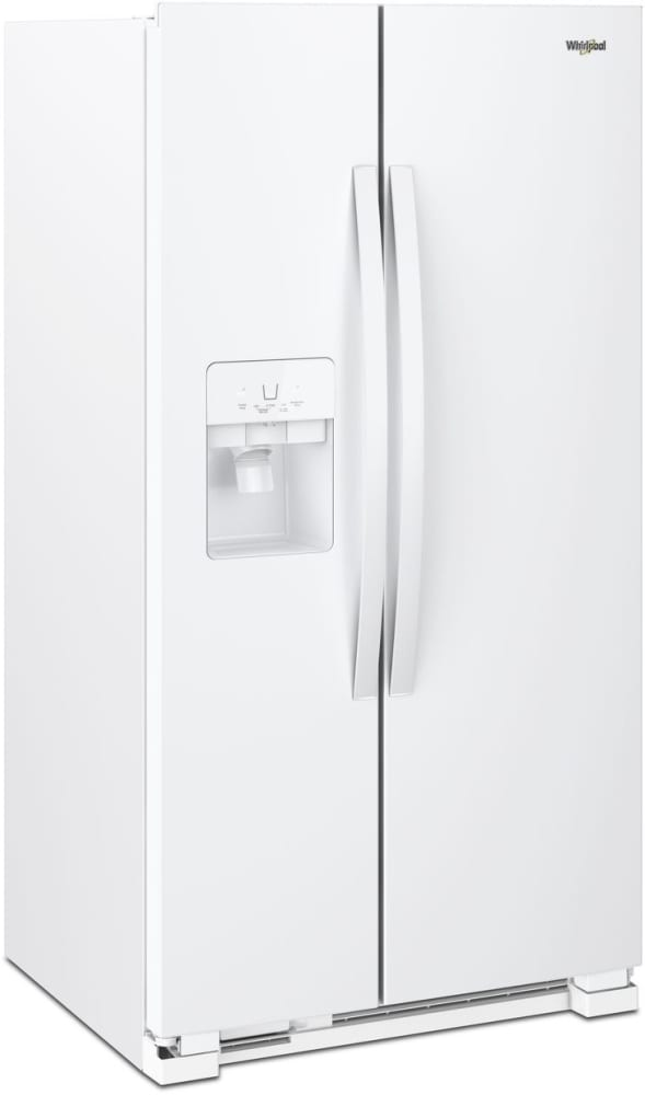 Whirlpool Wrs321sdhw 33 Inch Side By Side Refrigerator