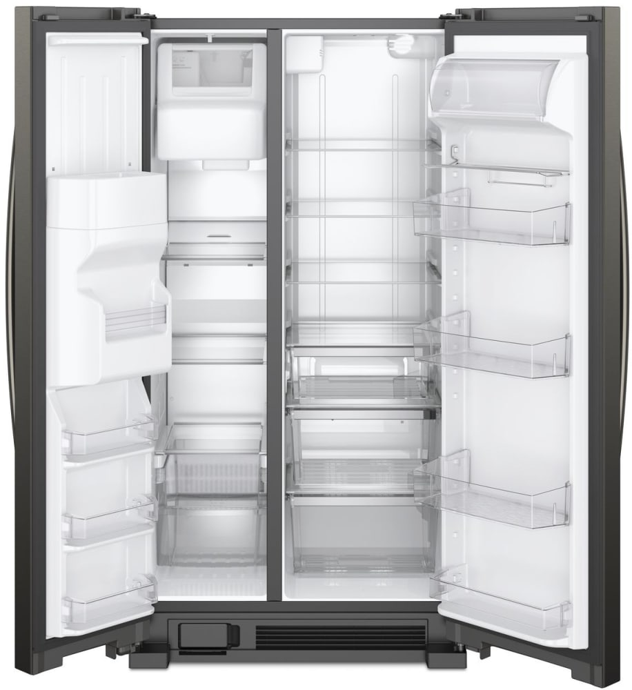 Whirlpool Wrs325sdhv 36 Inch Side By Side Refrigerator