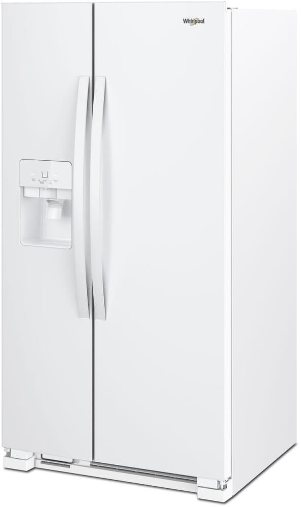 Whirlpool Wrs325sdhw 36 Inch Side By Side Refrigerator